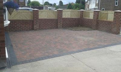 Block Paving Patios Garden Walls Castleford Pontefract